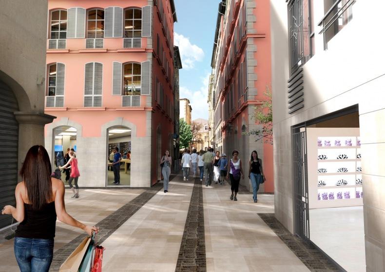 rue des arts à toulon