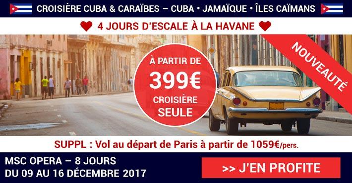 EN PROMO Profitez de la douceur de vivre à Cuba !