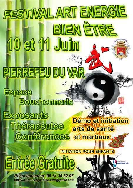 Festival Art Energie et Bien-être à Pierrefeu