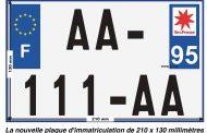 Plaque d'immatriculation au format réglementaire le 1er juillet pour les motos, cyclos, tricycles et de quads