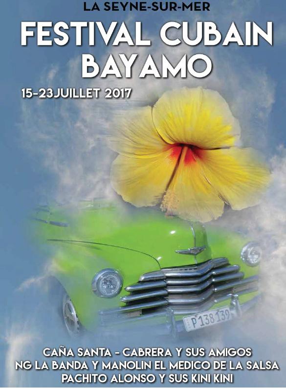 La Seyne, Festival cubain Bayamo 2017