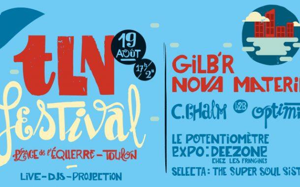 TLN Festival 2017 revient dans le centre ville de Toulon