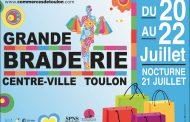 Grande braderie au centre-ville de Toulon !