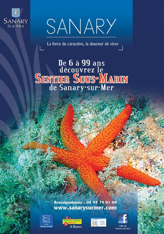 Ouverture du sentier sous-marin de Sanary