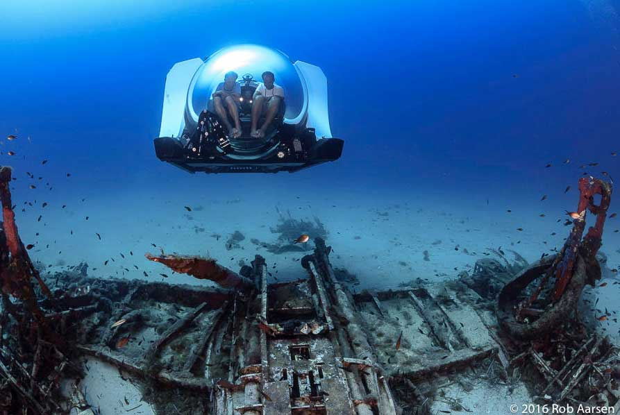 sous marin privé