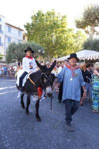 Saint Eloi balade à dos d'ânes