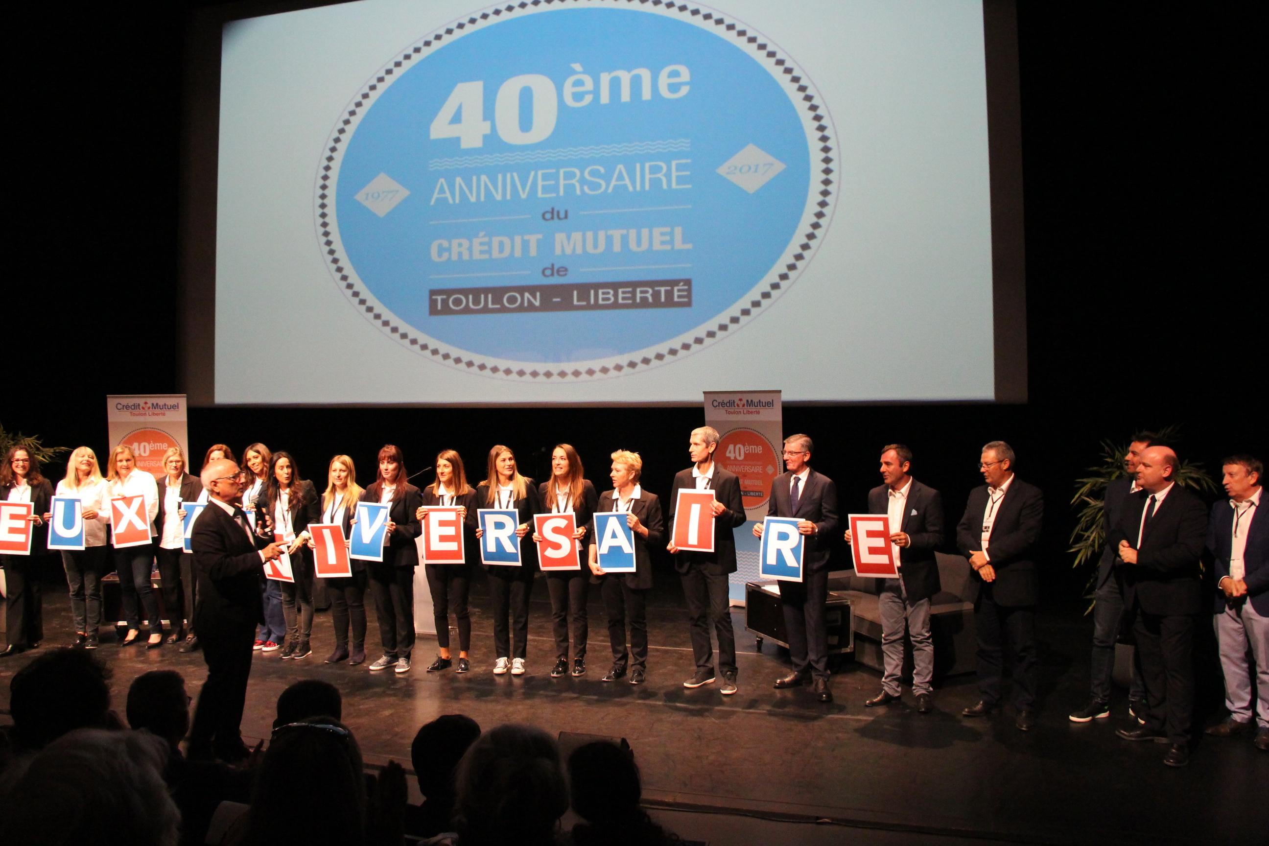 Crédit Mutuel Toulon Liberté : un anniversaire réussi pour ses 40 ans