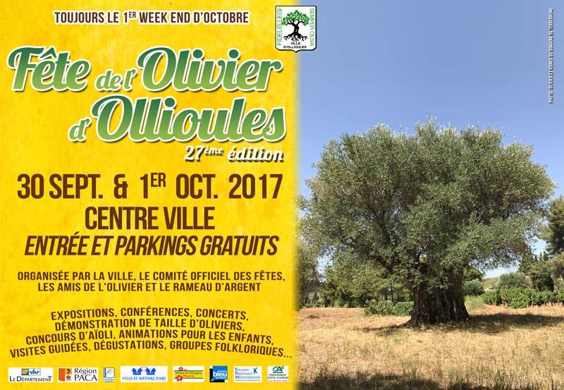 Fête de l'olivier d'Ollioules : 27ème édition