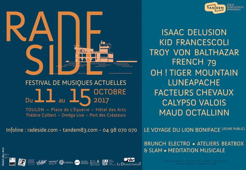 Festival de musiques actuelles Rade Side à Toulon