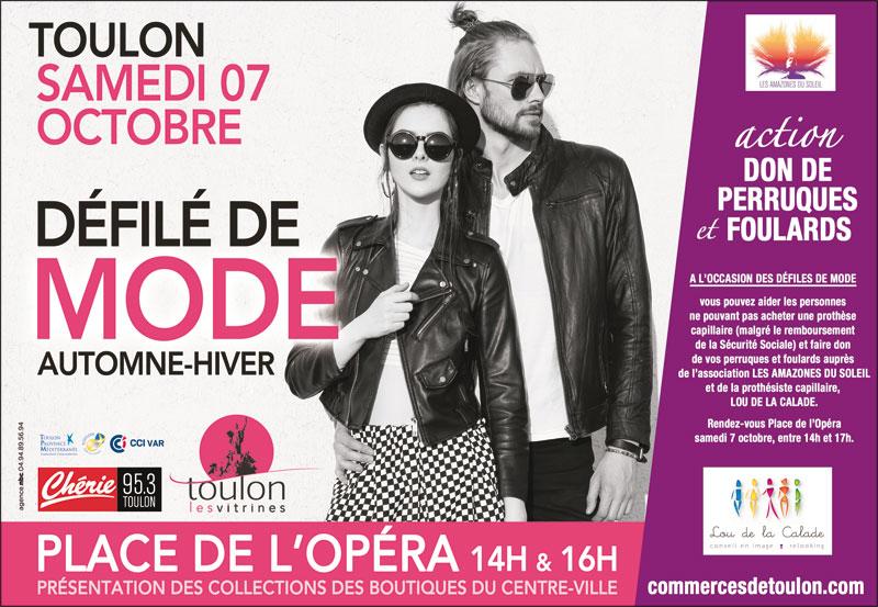 Défilé de mode Automne-Hiver 2017 à Toulon