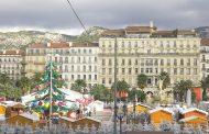 Visite du Village de Noël de la Ville de Toulon