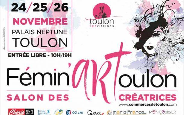 Fémin'Art Toulon 2017 au palais Neptune