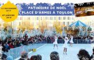 Patinoire de Noël, place d'Armes à Toulon