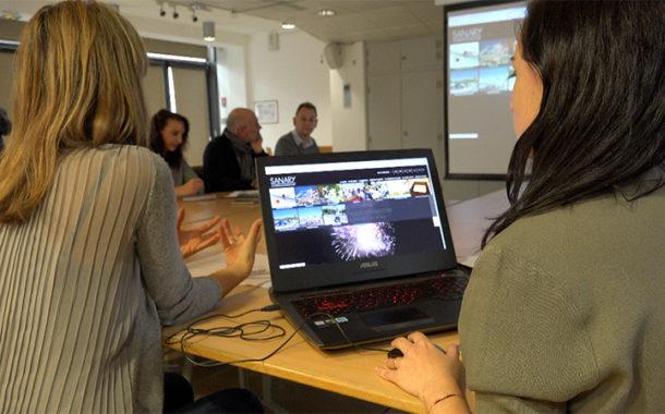 Sanary-sur-mer présente son nouveau portail internet