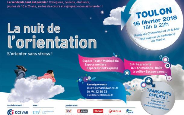 La nuit de l'orientation 2018 à Toulon