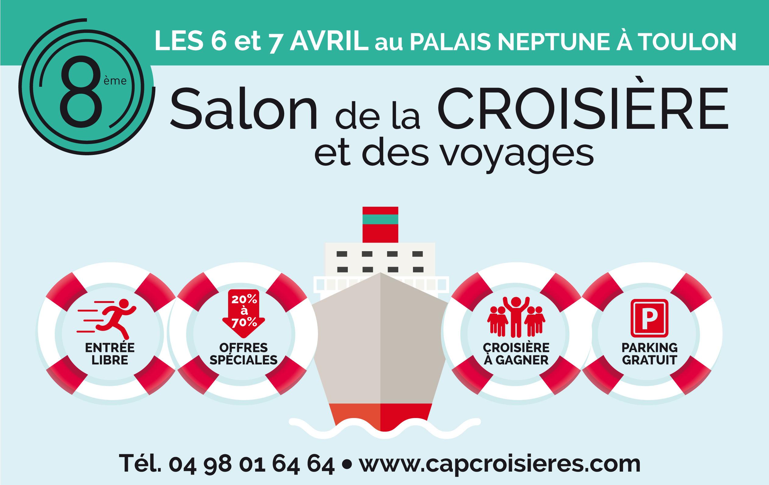 Le salon de la croisière et des voyages à Toulon