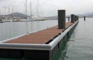 Sanary : Des nouveaux pontons flottants
