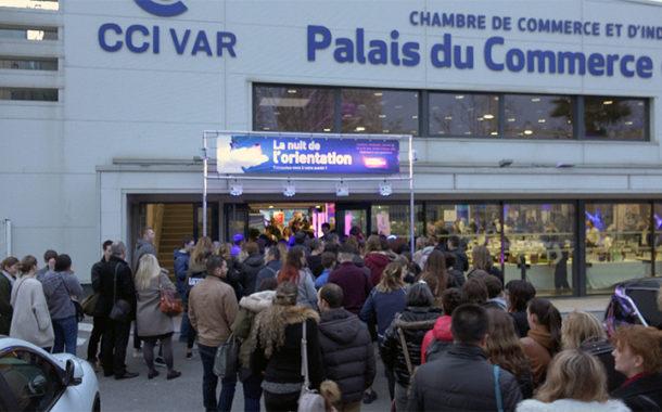 La Nuit de l'orientation 2018 à Toulon a connu une forte fréquentation