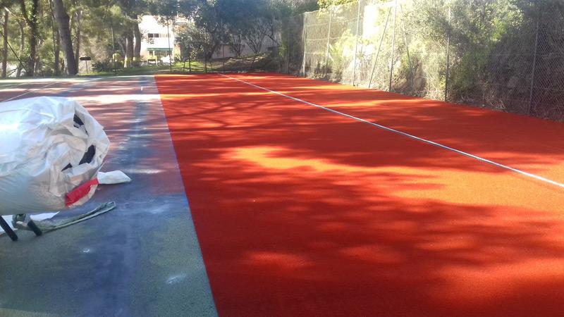 Le tennis club du rosaire à Sanary bientôt un des plus beaux clubs de la région