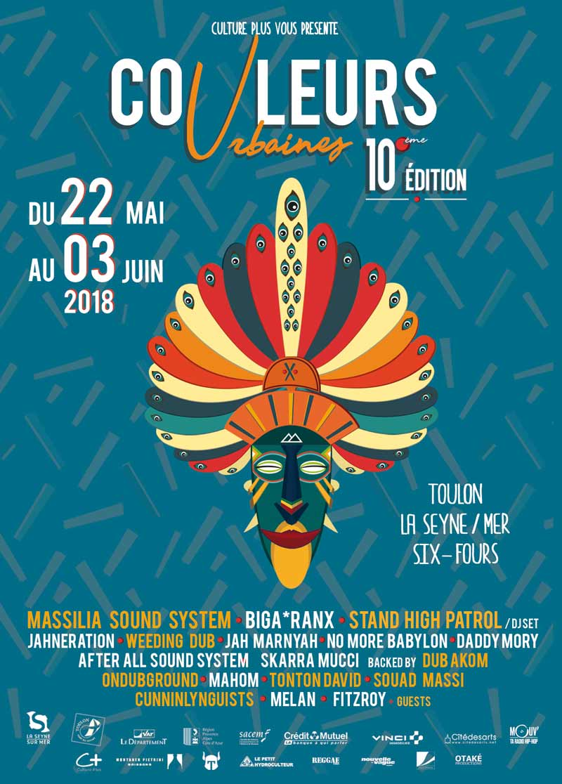 Festival Couleurs Urbaines 2018