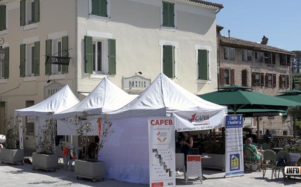 La Capeb83 a organisé un déjeuner convivial en Dracénie