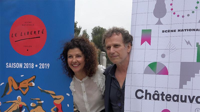 Rencontre avec Charles Berling et Pascale Boeglin Rodier les nouveaux co-directeurs de Châteauvallon