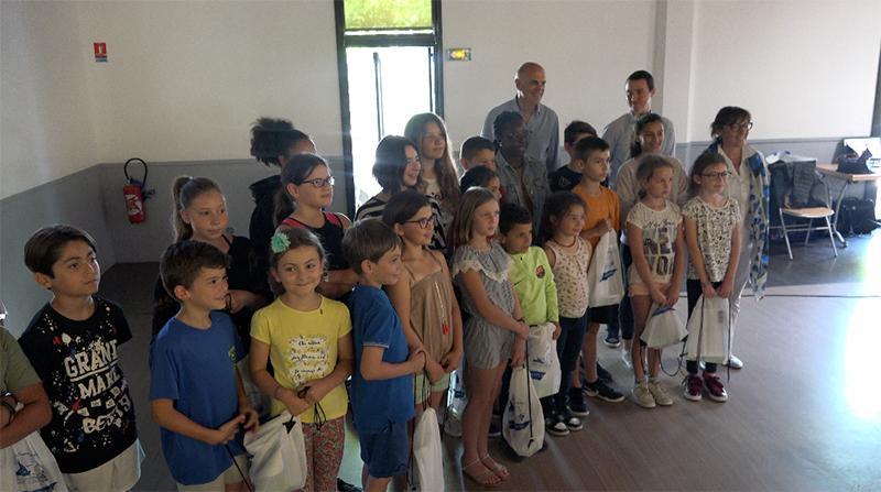 Les Petits Reporters de l'agglomération Sud Sainte Baume récompensés