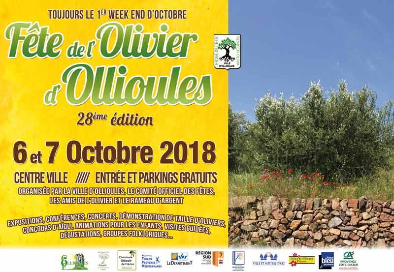 Fête de l'Olivier d'Ollioules 2018
