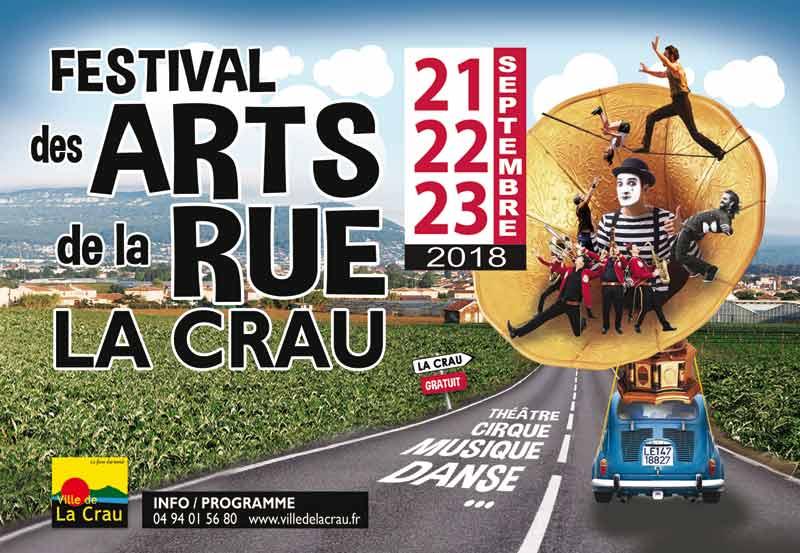 Festival des Arts de la Rue 2018 à La Crau
