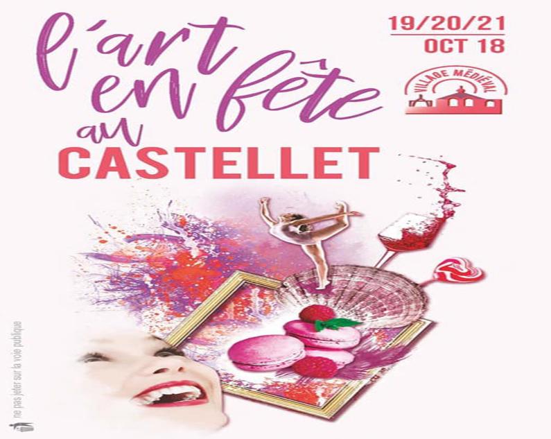 L'art en Fête au Castellet village