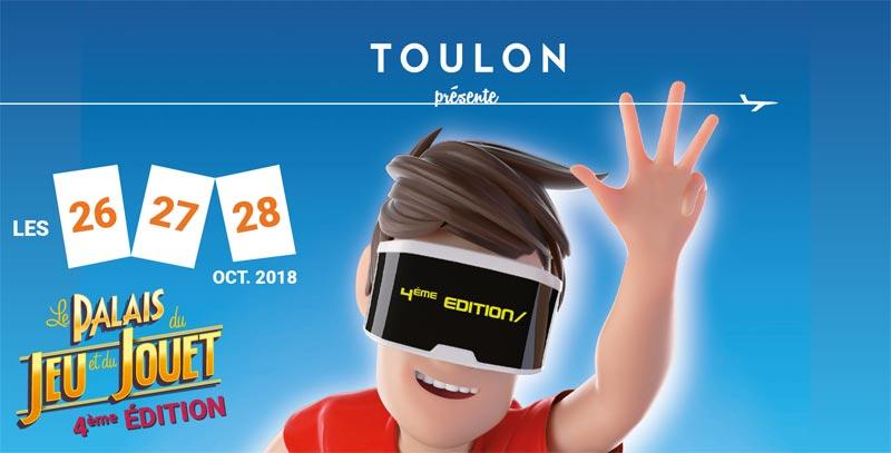 Le Palais du Jeu et du Jouet est de retour à Toulon