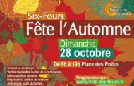Six-Fours fête l'Automne, dimanche 28 octobre