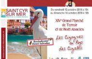 Grand marché de terroir et de Noël Alsacien à St Cyr-sur-Mer