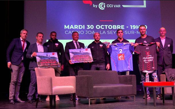 Premium night by CCI du Var, quand le sport inspire l'entreprise.