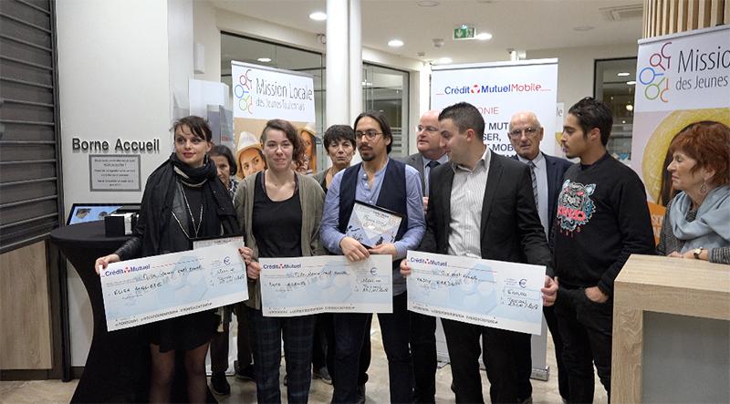 Les jeunes toulonnais osent avec la Mission locale et le Crédit Mutuel de Toulon