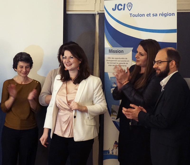 Une nouvelle Présidente pour la Jeune Chambre Économique de Toulon et sa région