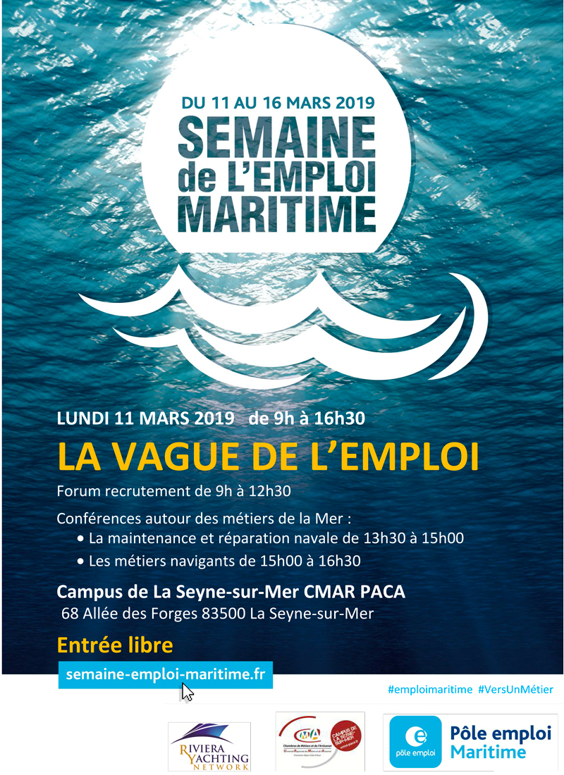 Semaine de l'emploi maritime au CFA de La Seyne-sur-Mer