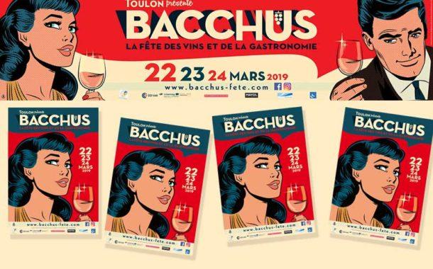 Bacchus à Toulon du 22 au 24 mars 2019
