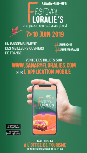 Emission du mercredi 10 avril 2019 - Les Floralies de Sanary - juin 2019