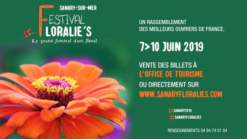 Festival Floralie's : du 7 au 10 juin à Sanary-sur-mer