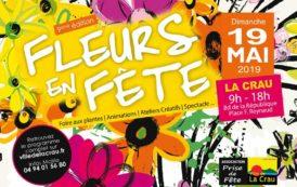 Fleurs en fête à La Crau, dimanche 19 mai 2019