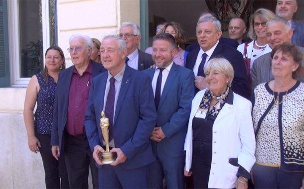 Le Beausset accueille la nouvelle Marianne d'Or 2019 (vidéo)