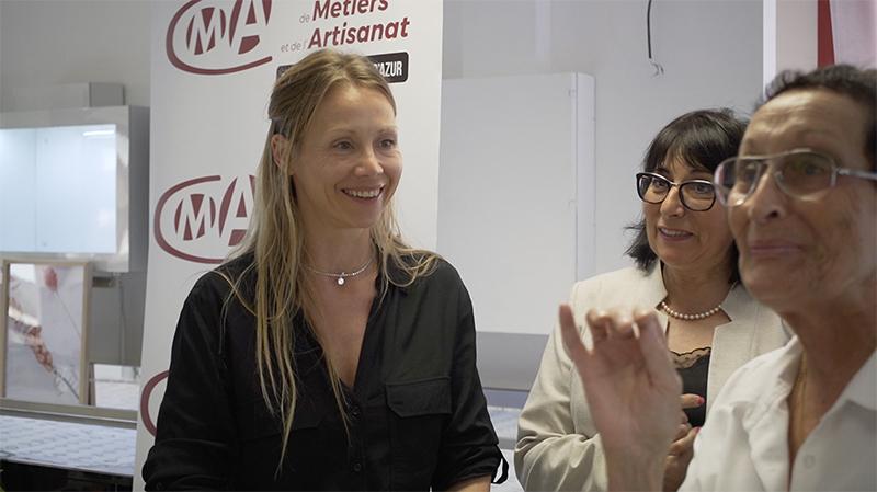 Doriane Bijoux reçoit le prix de l'innovation Stars et Métiers 2019 (vidéo)