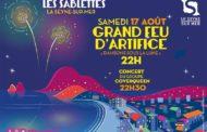 Grand feu d'artifice, samedi 17 août aux Sablettes à La Seyne