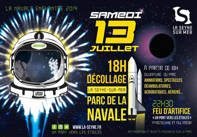 La Navale enchantée, samedi 13 juillet 2019 à La Seyne-sur-Mer