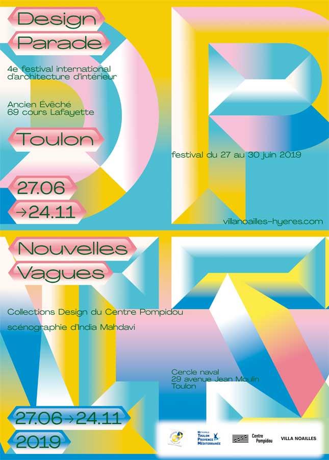 Design Parade à Hyères et Toulon du 27 juin au 24 novembre 2019