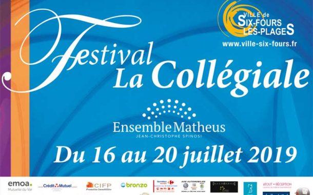Festival de la Collégiale 2019 à Six-Fours-les-Plages