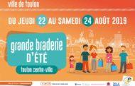 Grande braderie d'été 2019 de Toulon