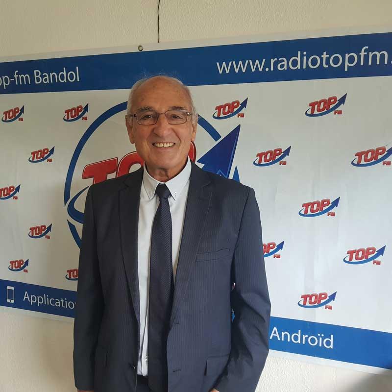 INFO 83 et TOP FM reçoivent Claude Dupont à l'occasion des rencontres du Crédit Mutuel ayant pour thème