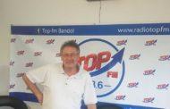 INFO 83 et TOP FM rencontrent Philippe Léonelli maire de Cavalaire pour Caval'eau Jet 2019, Jacques Serre des Kiwanis de Bandol pour le salon de l'auto - moto et mobilité électrique 2019
